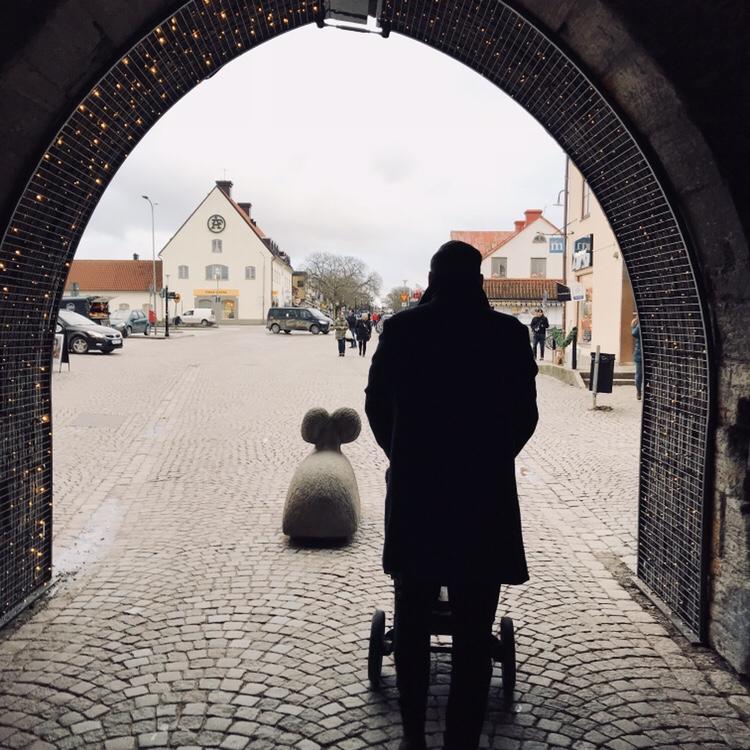 Mysig dag i Visby